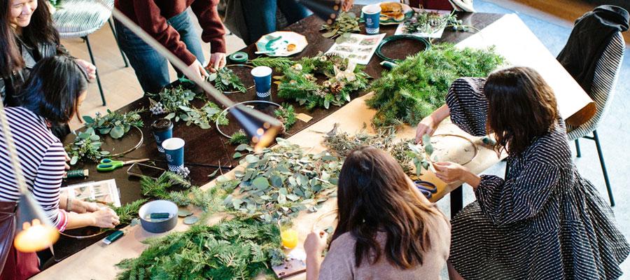 atelier vert en team building à Paris