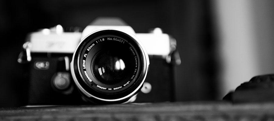 Photo professionnel en noir et blanc